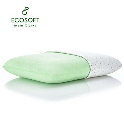 Ecosoft Core Memory Foam Pillow Rayon From Bamboo Cover Eco