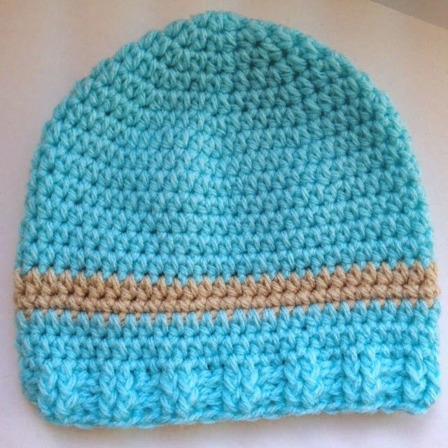"NEW FREE PATTERNS! ""My Little Baby"" Newborn Hat- Crochet ..."