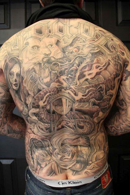 Cartoon Is So Ill Mr Cartoon Tattoo Cartoon Tattoos Body Suit
