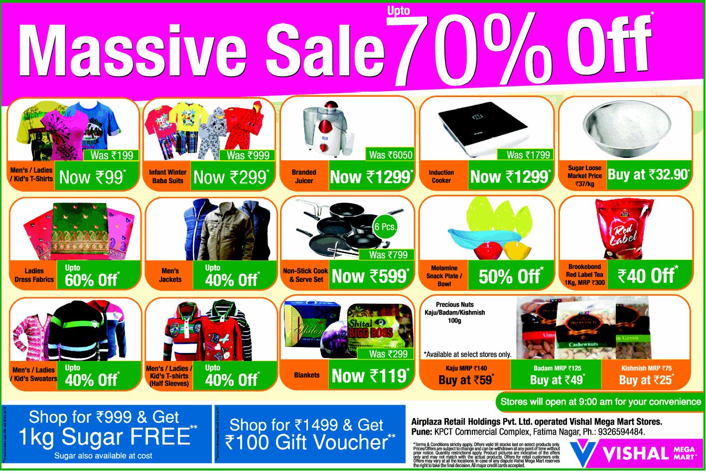 45f322412 Vishal Megamart sale 70% off Best Online Fashion Stores, Online Shopping  Sites, Online