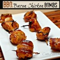 Bbq Bacon Chicken Bombs With Images Chicken Bomb Recipes Bacon Chicken Bombs Food Recipes