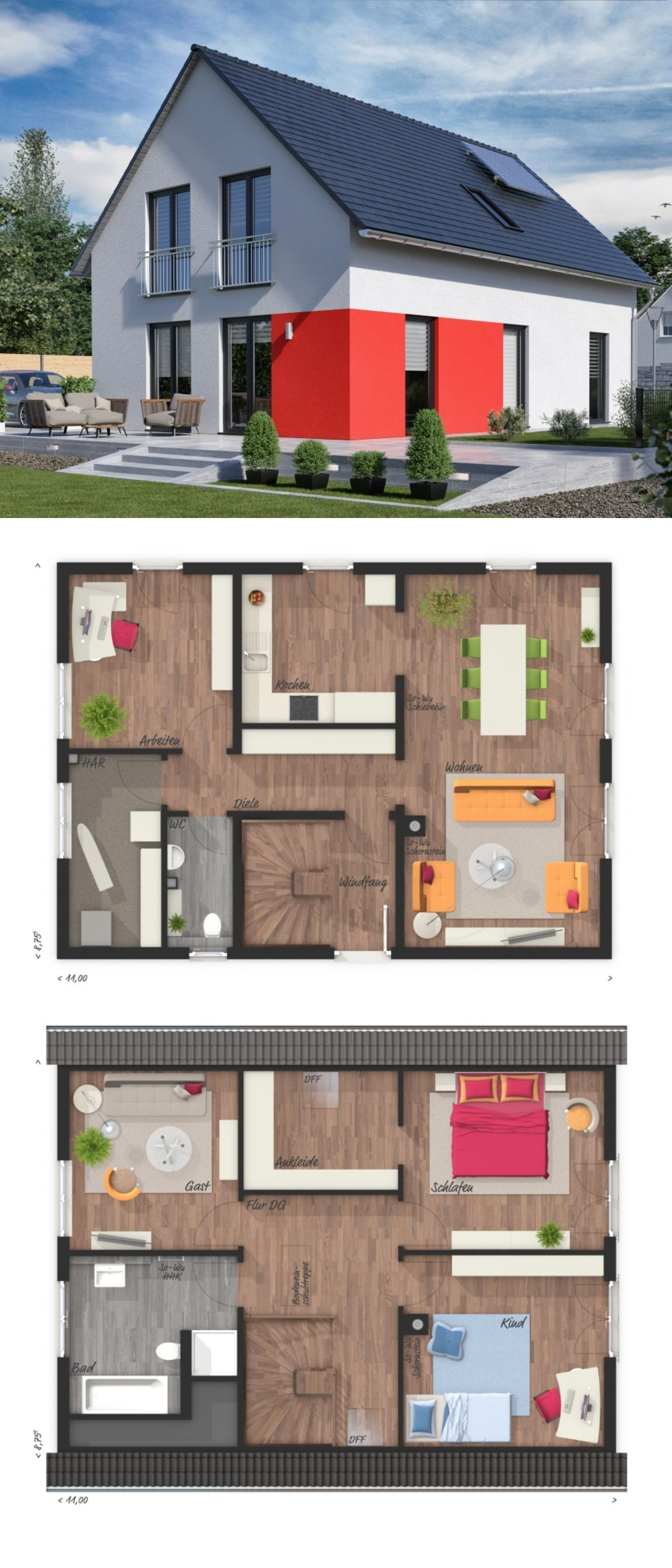 Modern Contemporary European Architecture Design House