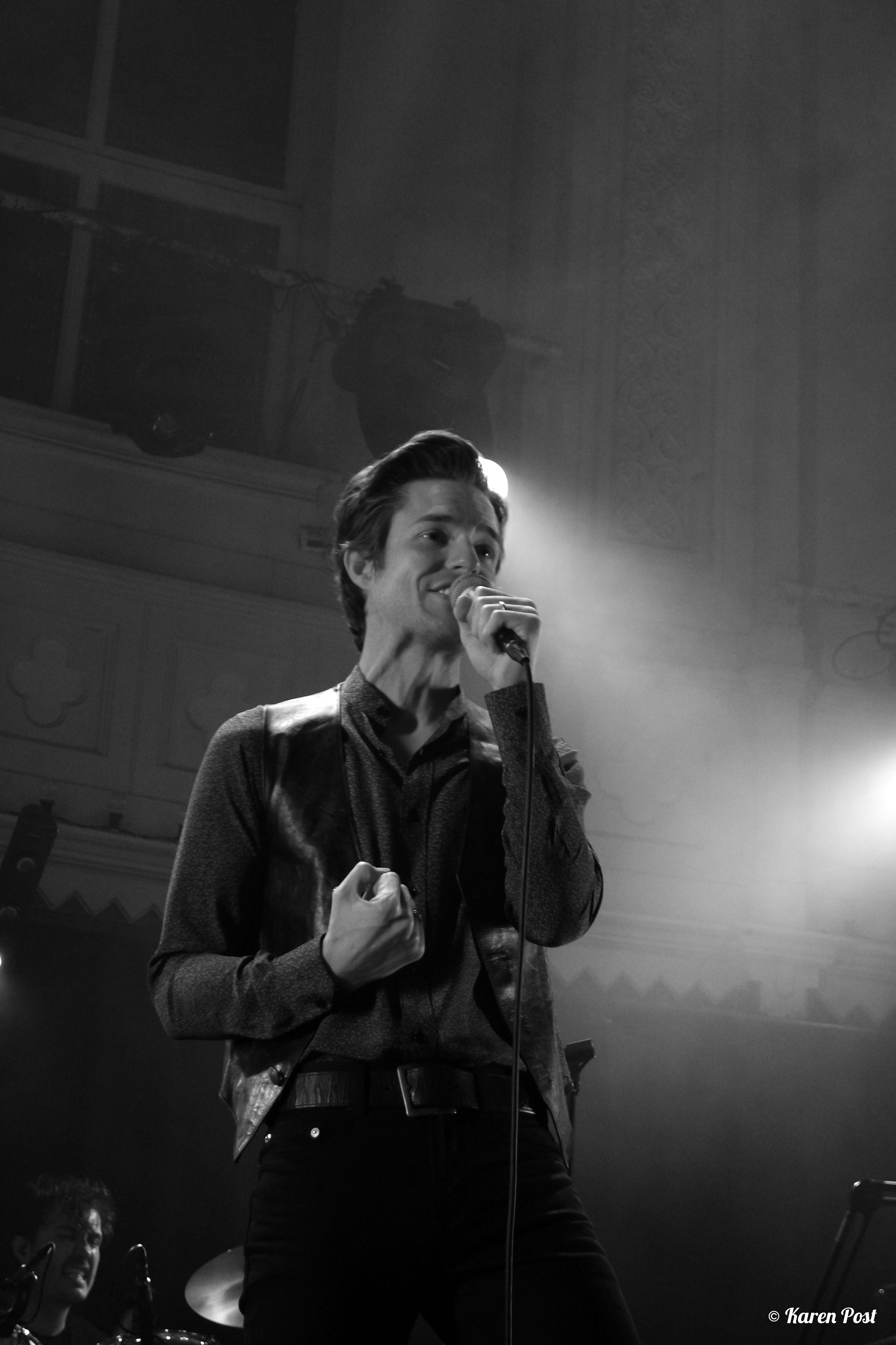 Brandon Flowers, live at Paradiso Amsterdam 1st June 2015