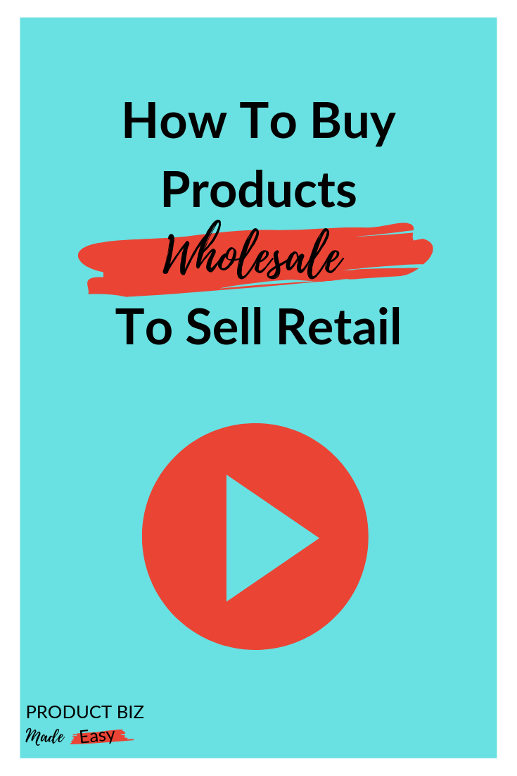 Podcast How To Buy Products Wholesale To Sell Retail With Becky J Anderson Product Biz Made Easy Things To Sell Retail Product Based Business