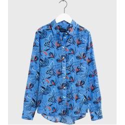Gant Florale Seidenbluse (Blau) Gant