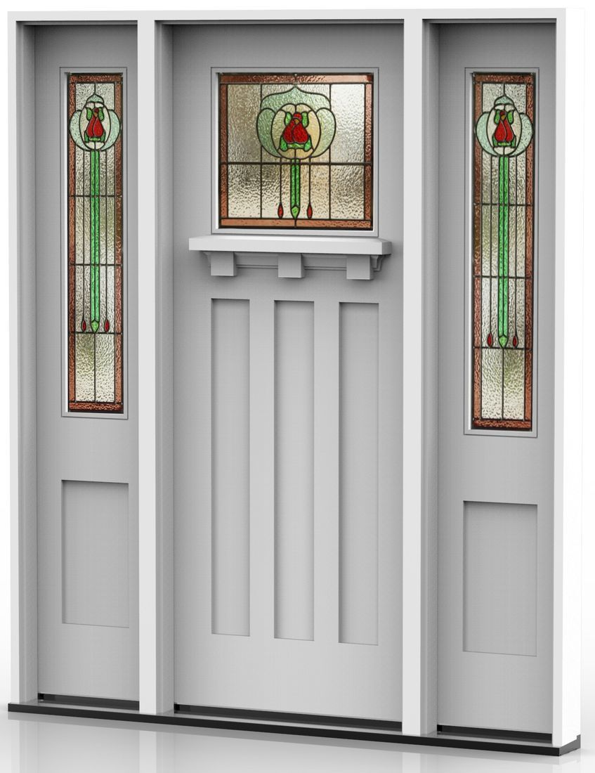 Traditional Entrance Doors Heritage Doors and Leadlight Californian Bungalow Doors : bungalow doors - pezcame.com