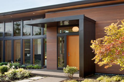 Modern Entry Porch Design Modern Porch Door Canopy Modern