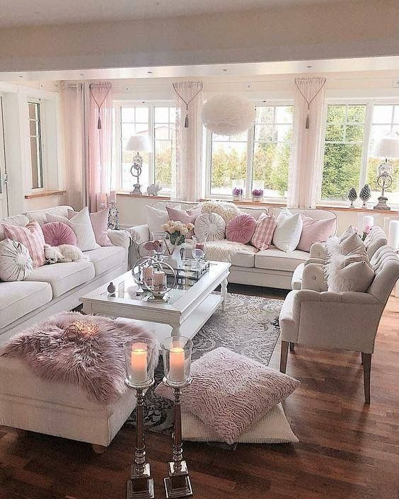 Pin By Ulrikre Steffens On Beautiful Shabby Chic Interior Design Shabby Chic Living Room Chic Living Room Living Room Decor Apartment