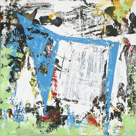 Abstract Painting Art Us Bank Stadium Minnesota Vikings 5 By