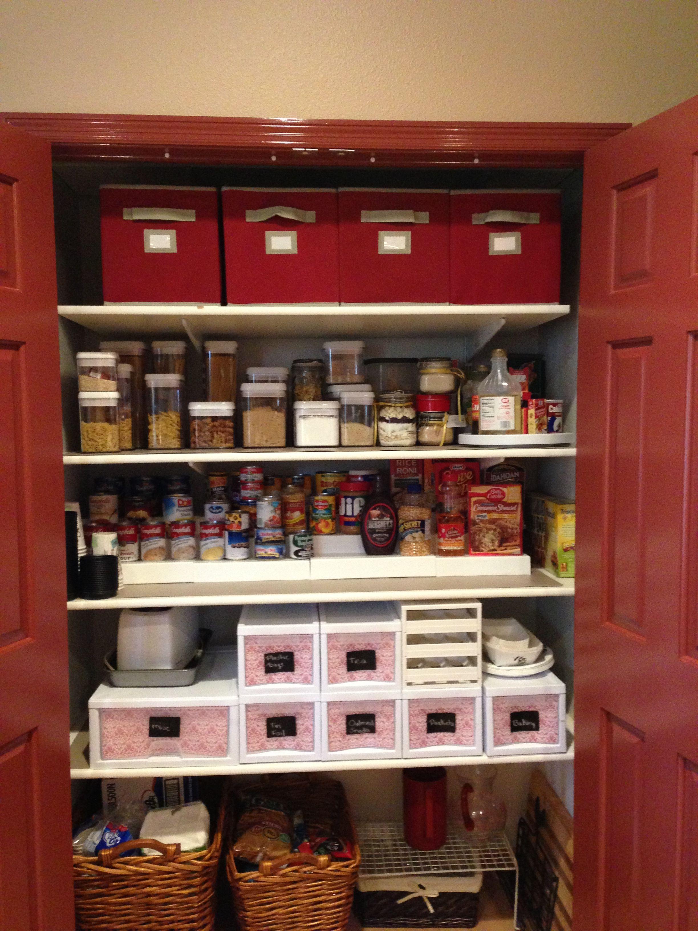 Kitchen Pantry Organization Mega Stacking Shelves From Organizeit Com Kitchen Organization Pantry Pantry Organization Stacking Shelves