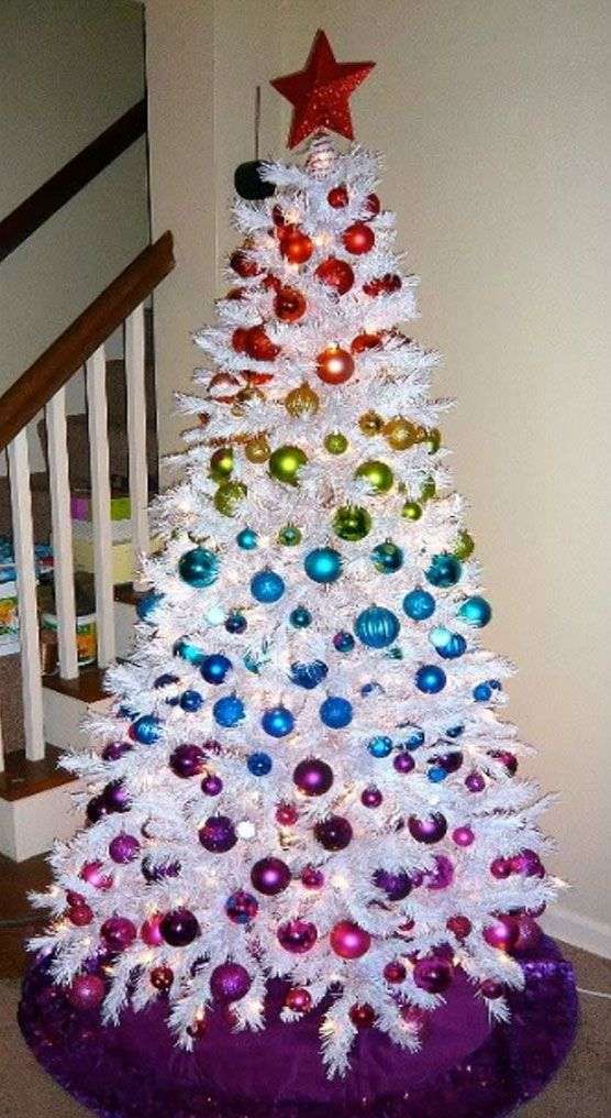 Awesome Christmas Trees 23 White And Silver Tree Decorations