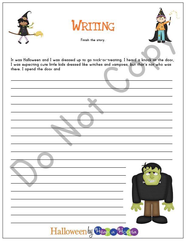 Halloween Games and Activities for Preschool - 6th Grade ...
