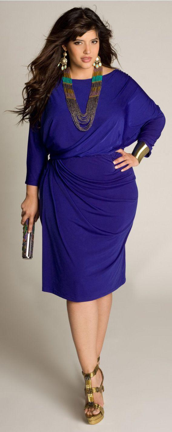 Mara Dress in plus size   Cristal tallas curvy   Pinterest   Cristal ...