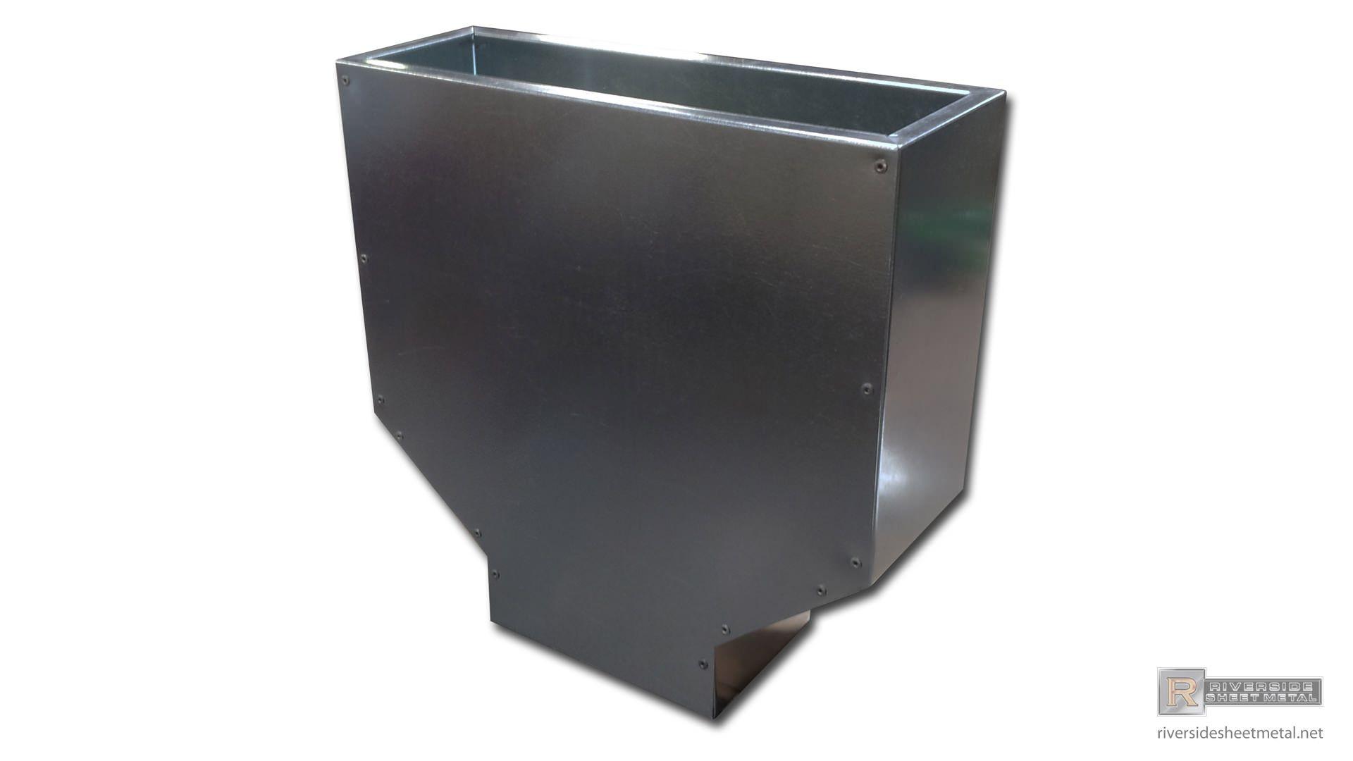 Galvanized Steel Simple Custom Leader Head Galvanized Steel Galvanized Gutters Galvanized