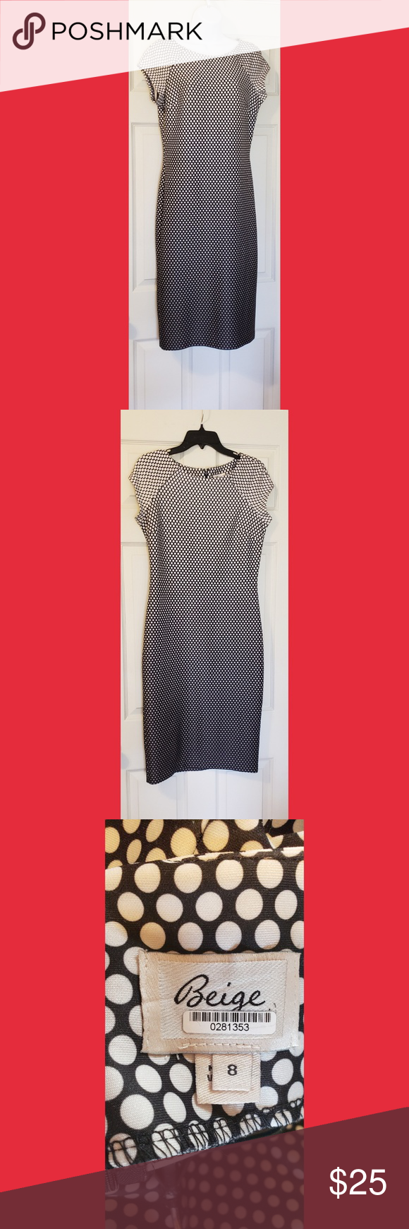 Black and white polka dot dress my posh picks pinterest white