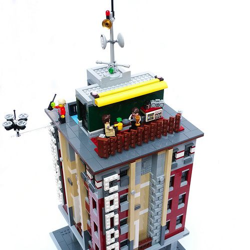 Brick Condos, Ghostbusters HQ Alternate Build | Lego | Lego