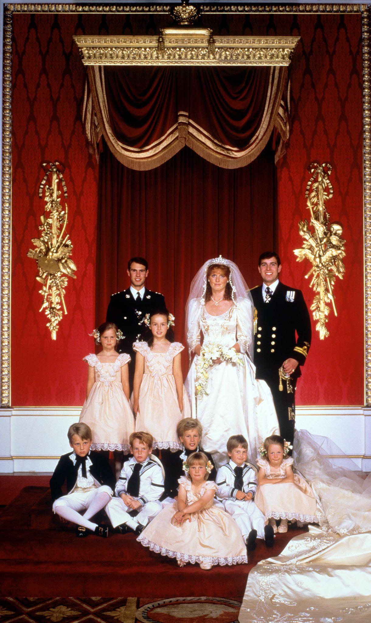 Royale Blumenkinder Und Pagen Royale Hochzeiten Prinz Andrew Prinzessin Charlotte