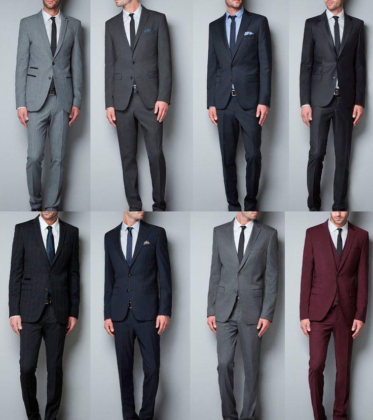 Vestuario Hombre · Elige los colores de trajes apropiados para cada ocasión  - http   www. 6c015517593