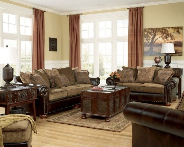 appealing traditional fabric sofas living room furniture | furniture dazzling badcock living room sets using wooden ...