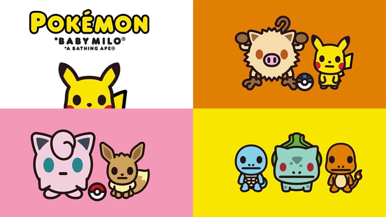 Pokemon X Bape Collection Blerd In 2020 Pokemon Black Lives Matter Sticker Pokemon X