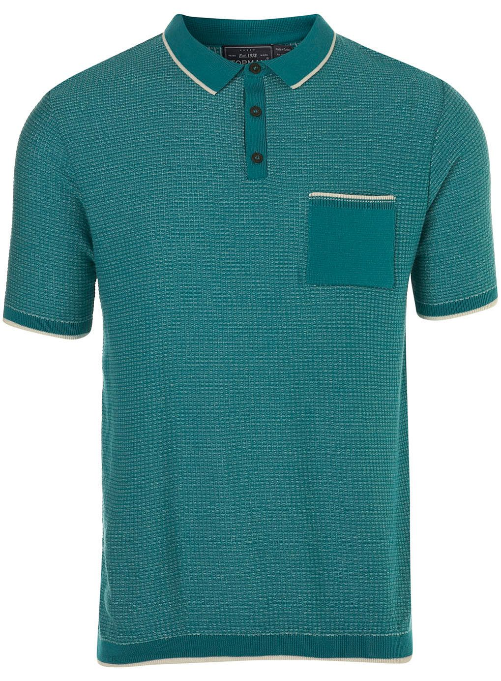 A ShirtTopman For Shirts Polo Knitted T Mint sCQhrdt