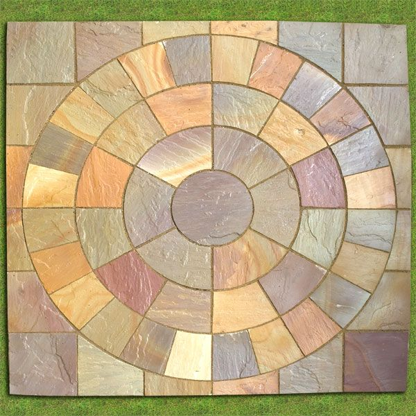 Delightful Buy Saxon Swirl Sandstone Paving Circle (Includes Squaring Off Kit!)  Sandstone External Paving