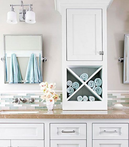 Bathroom Storage Ideas For Small Spaces Countertop Solutions