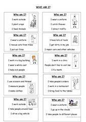 Job riddles 1 worksheet - Free ESL printable worksheets made by ...
