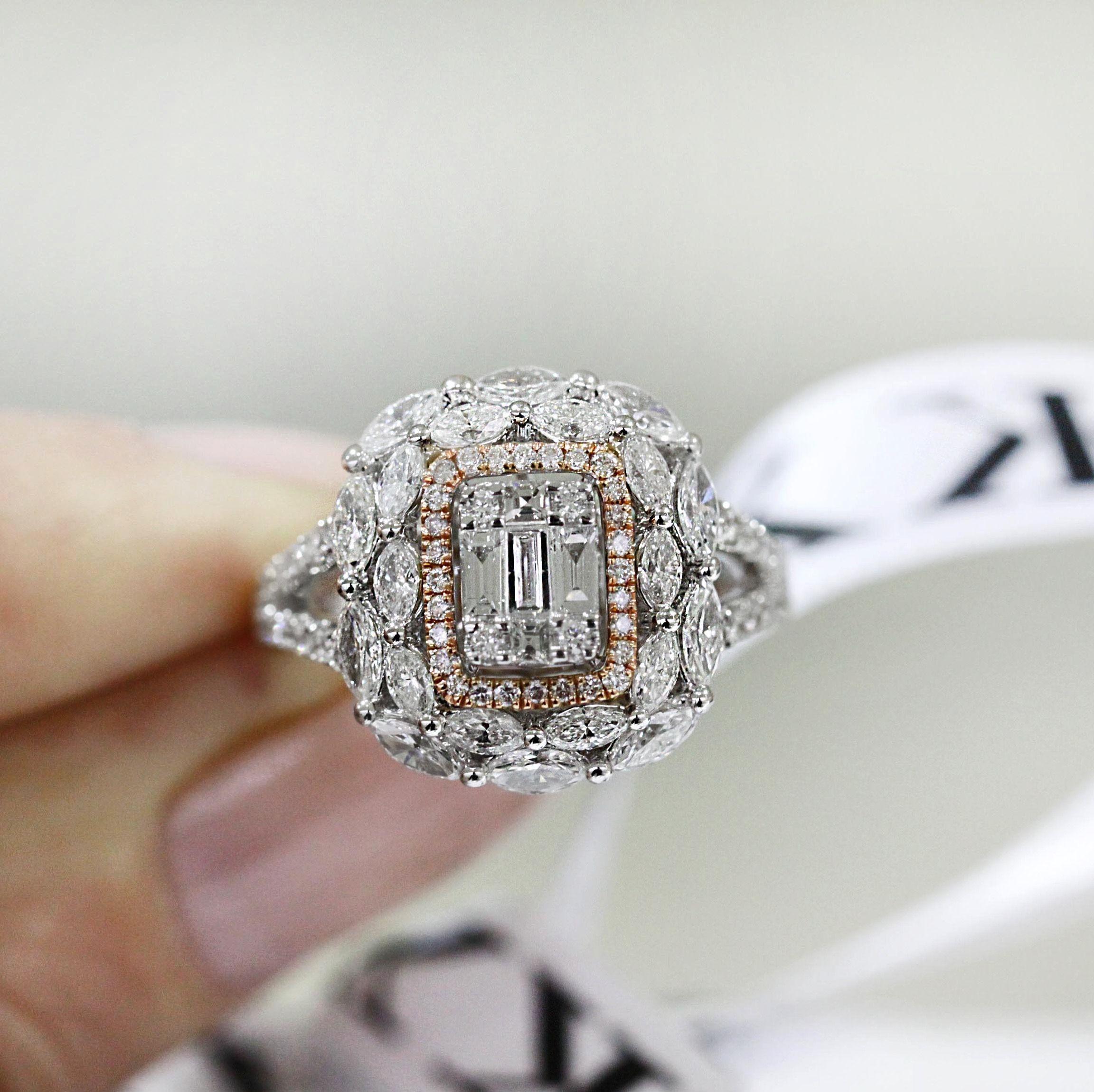 Diamond Ring Bykalfinjewellery Diamondrings Custommade