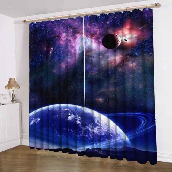 Galaxy Room Thermal Insulated Window Curtain Pair Set 2015 New Rhpinterest: Galaxy Drapes For Bedroom At Home Improvement Advice