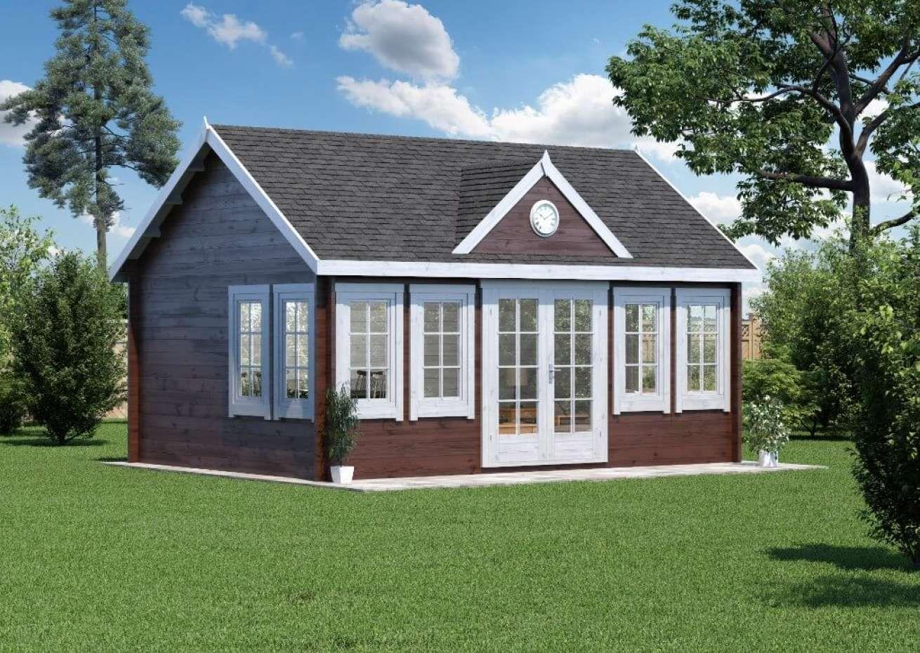 Bestellen Sie das Gartenhaus ClockhouseXL 70mm beim