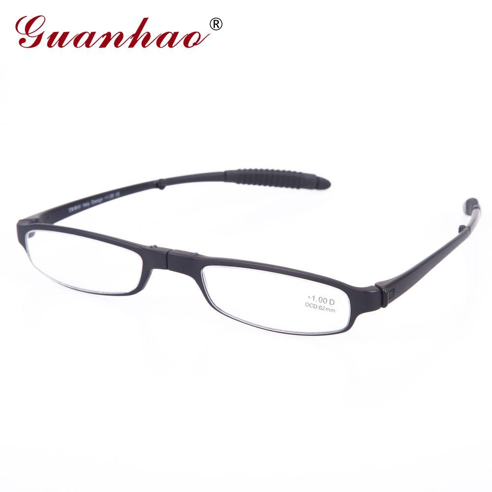 23c9bb959b9eb Fashion Foldable Reading Glasses Men And Women Plastic Frame Slim Reading  Glasses 1.0 1.5 2.0 2.5