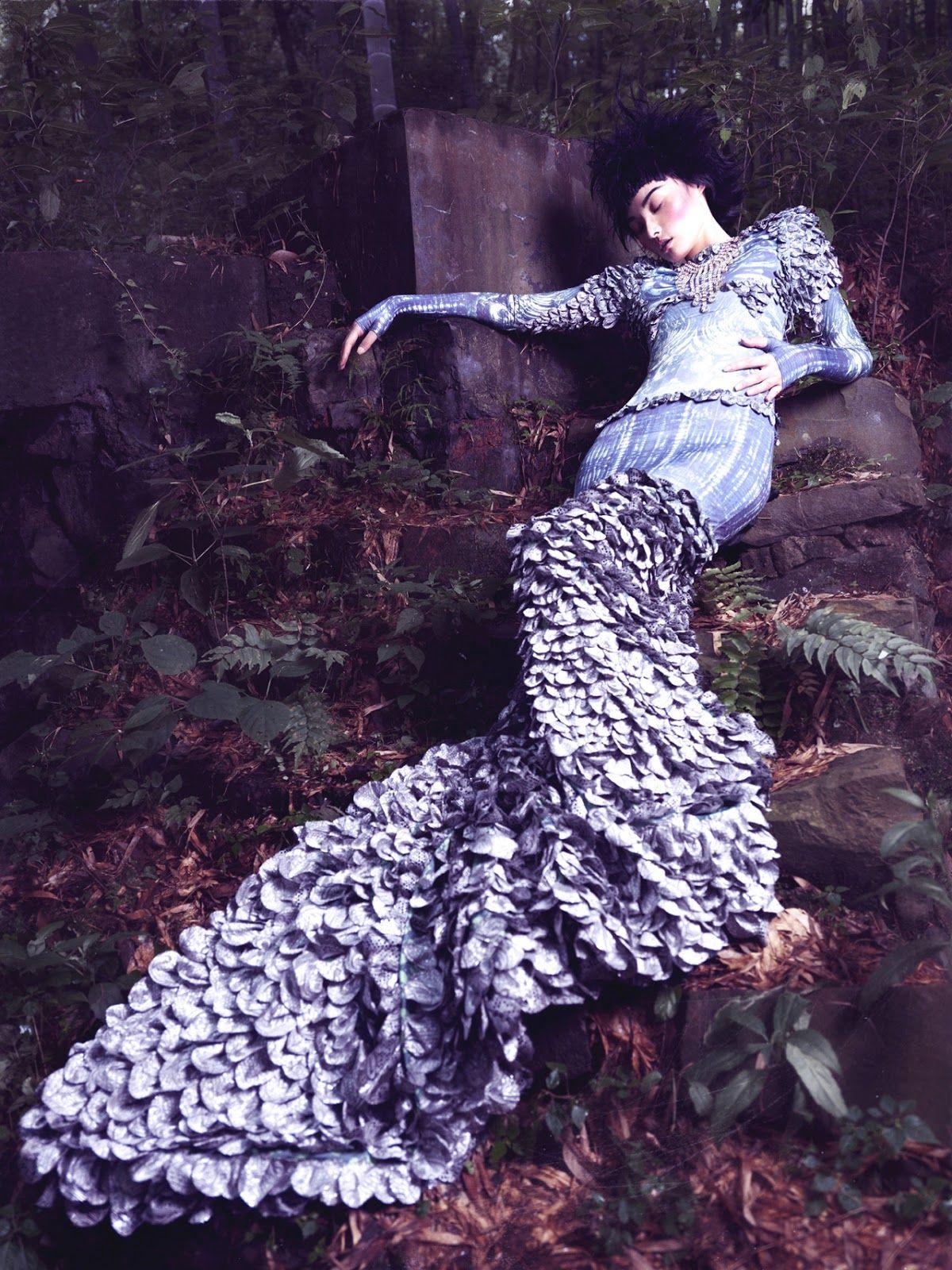 Lost Heaven| Yvonne Si Miao Bin by Stockton Johnson for Elle Vietnam October 2012!
