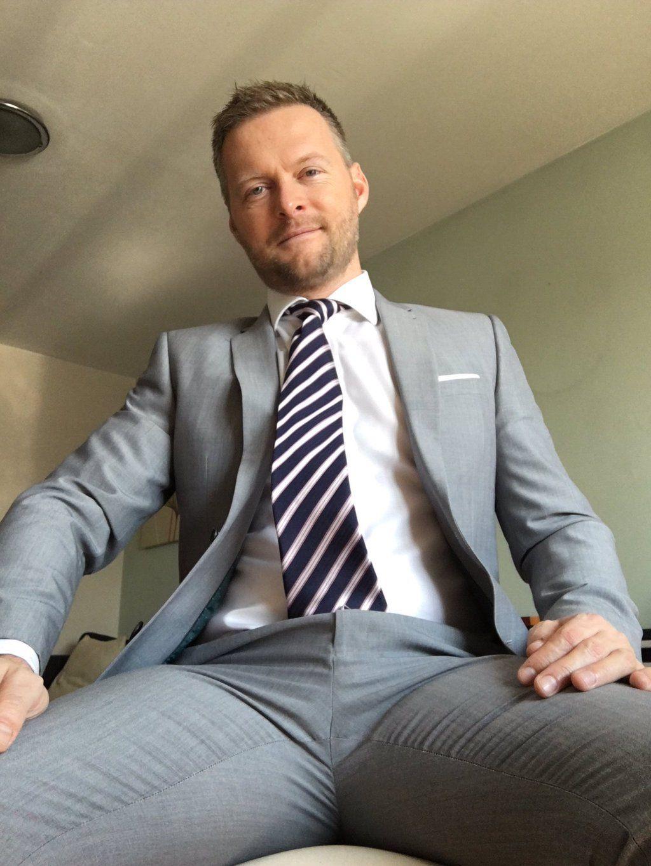 Gay suit tie fetish