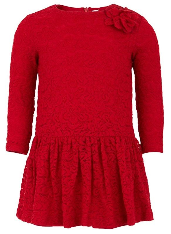 Il Gufo Red Lace Dress | Christmas | AlexandAlexa