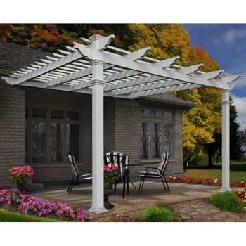 Exceptional Costco: Vineyard Attached X Pergola