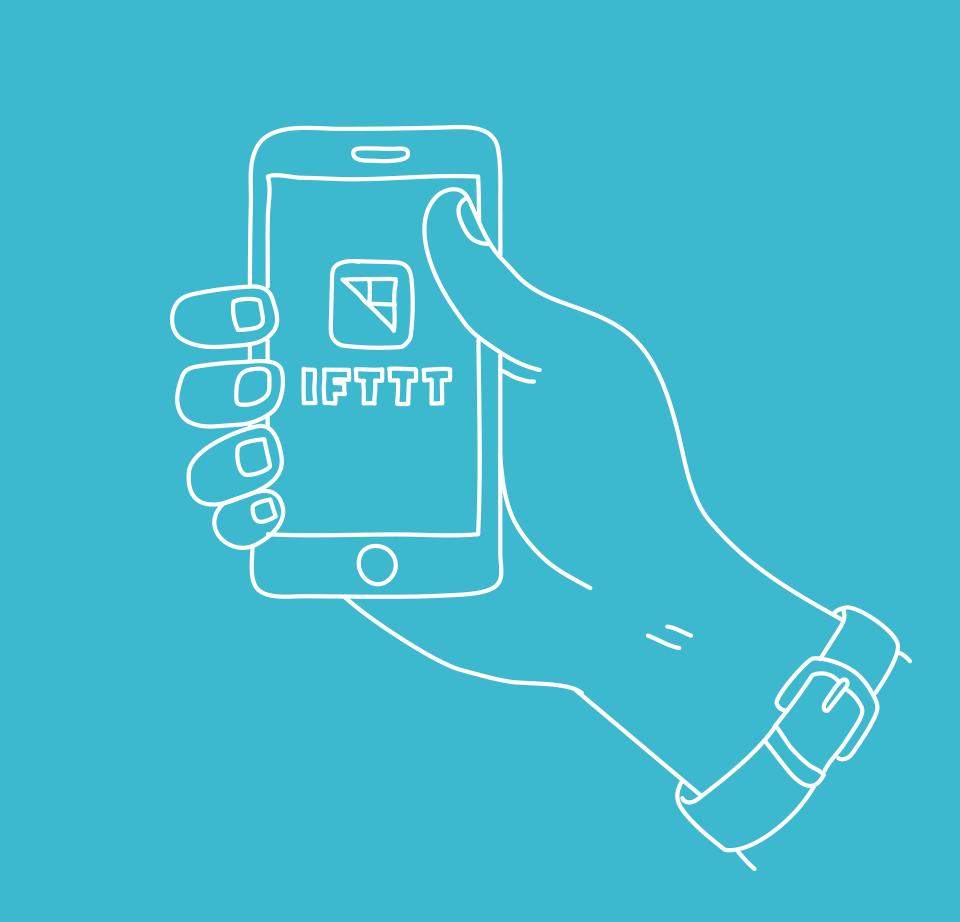 Activer automatiquement le mode silencieux à votre arrivée au bureau, recevoir tous les résultats de votre équipe préférée ou une notification en cas de risque de pluie... c'est possible ! #IfThisThenThat interconnecte simplement vos applications et services pour automatiser certaines actions. Simple et révolutionnaire ! #IFTTT #HelloPhone