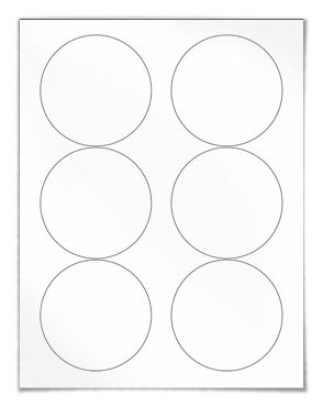 Free Blank Round Label Template Download Wl Round Label