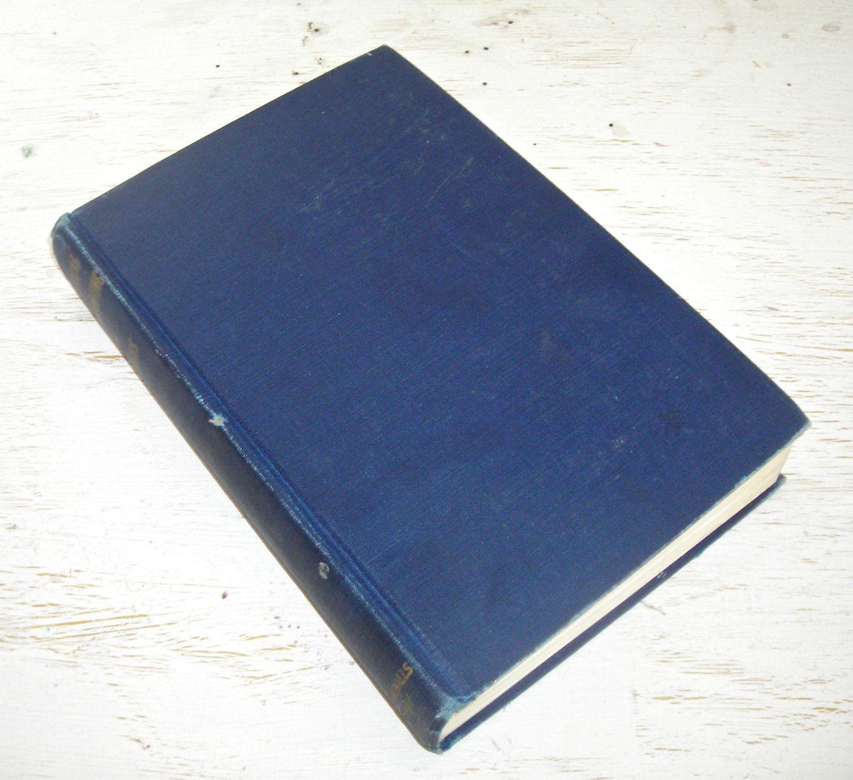 practical fingerprinting by b c bridges 1942 - navy blue vintage ...