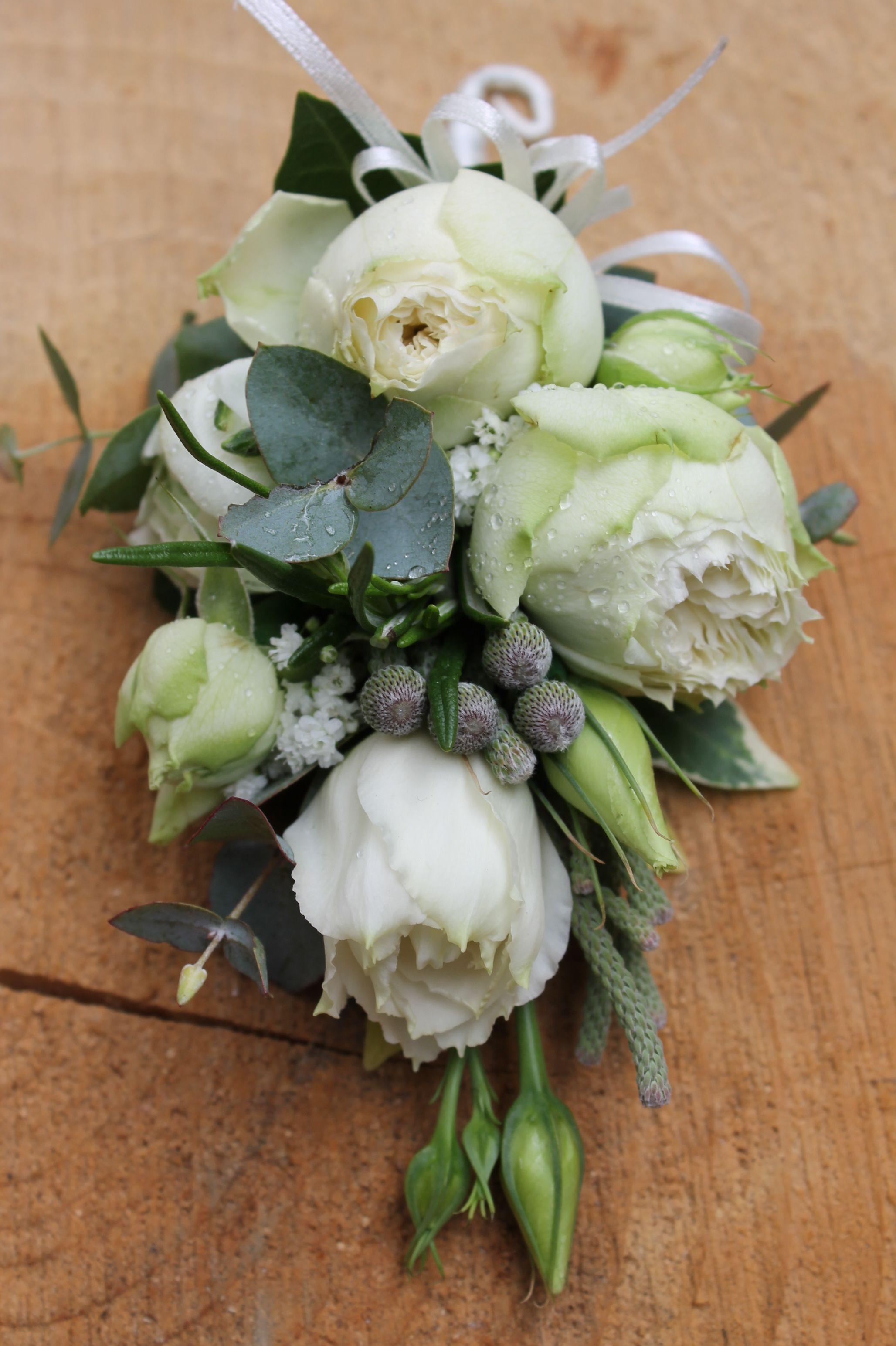 Ladies Corsage Handbag Spray Floral Selection Ivory Spray Roses