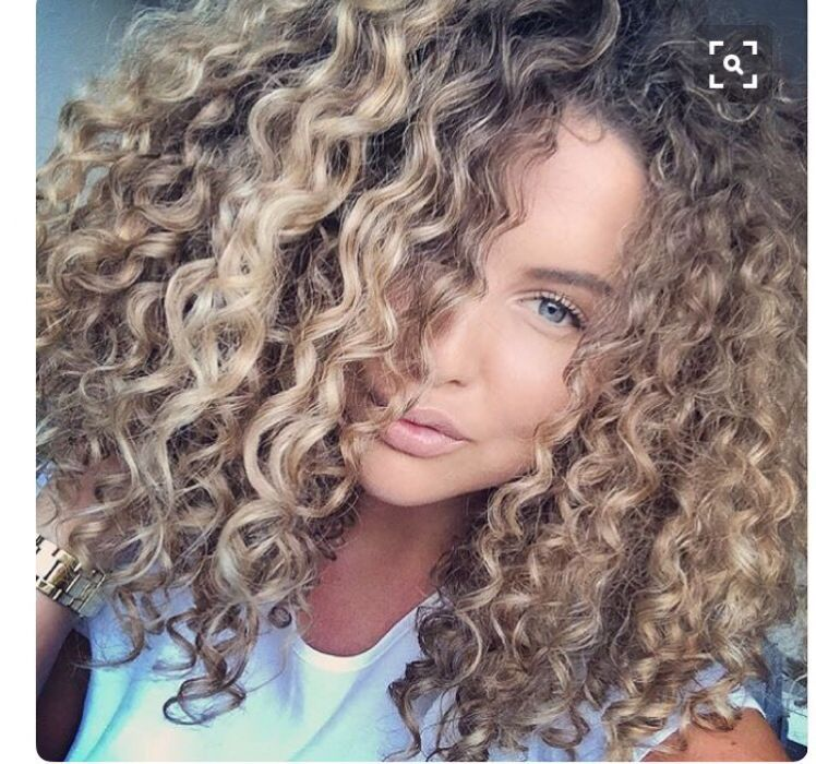 Pin By Lacey Burdick On Hair Color Idea Curly Hair Styles