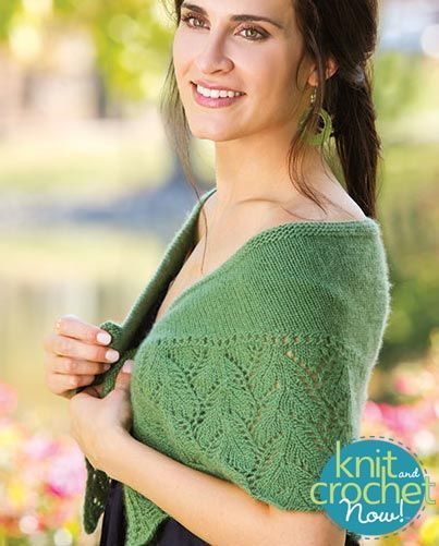 Free knit Rhea Capelet pattern download Design by Caryl Pierre ...