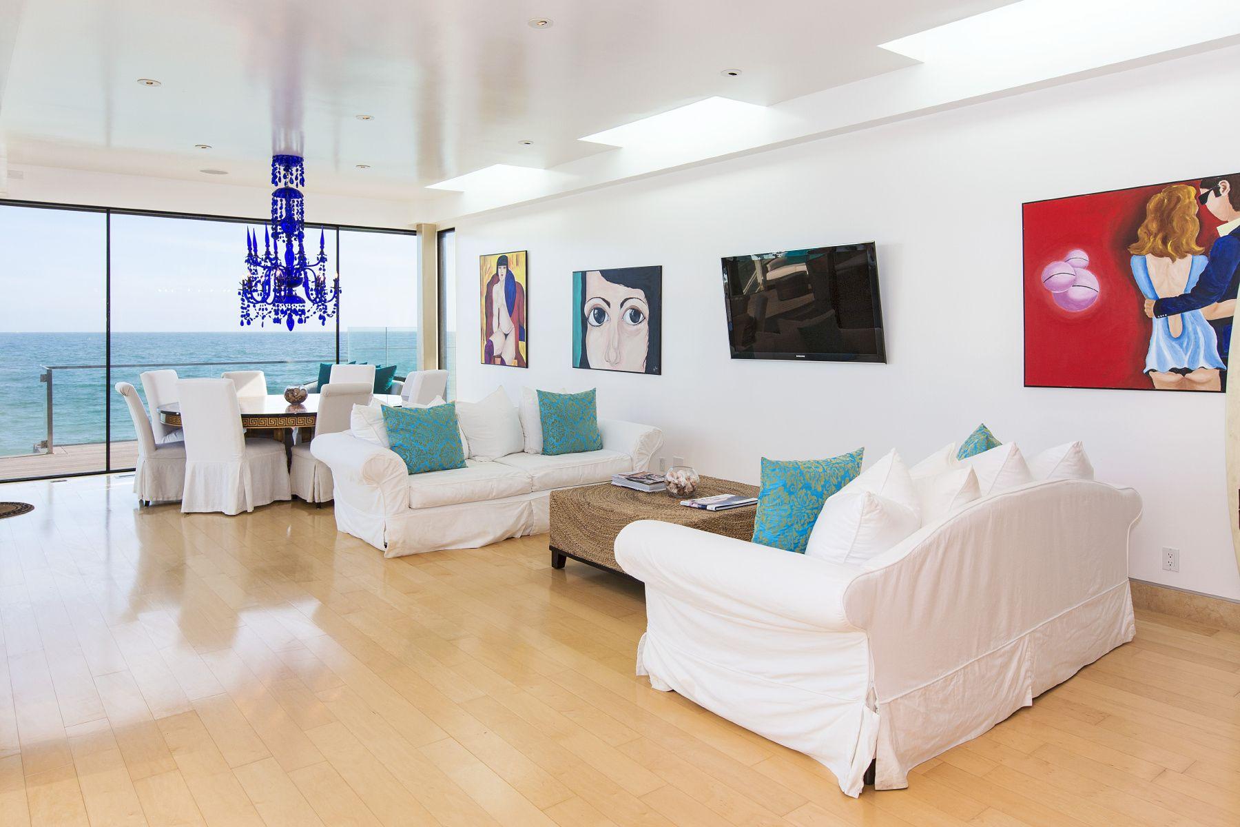 eclectic modern malibu dream home | Contemporary interior design ...