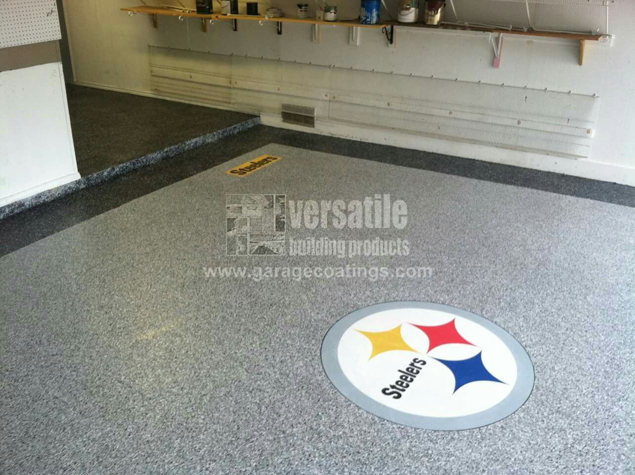 garage #renovation completed using #epoxyflooring and the