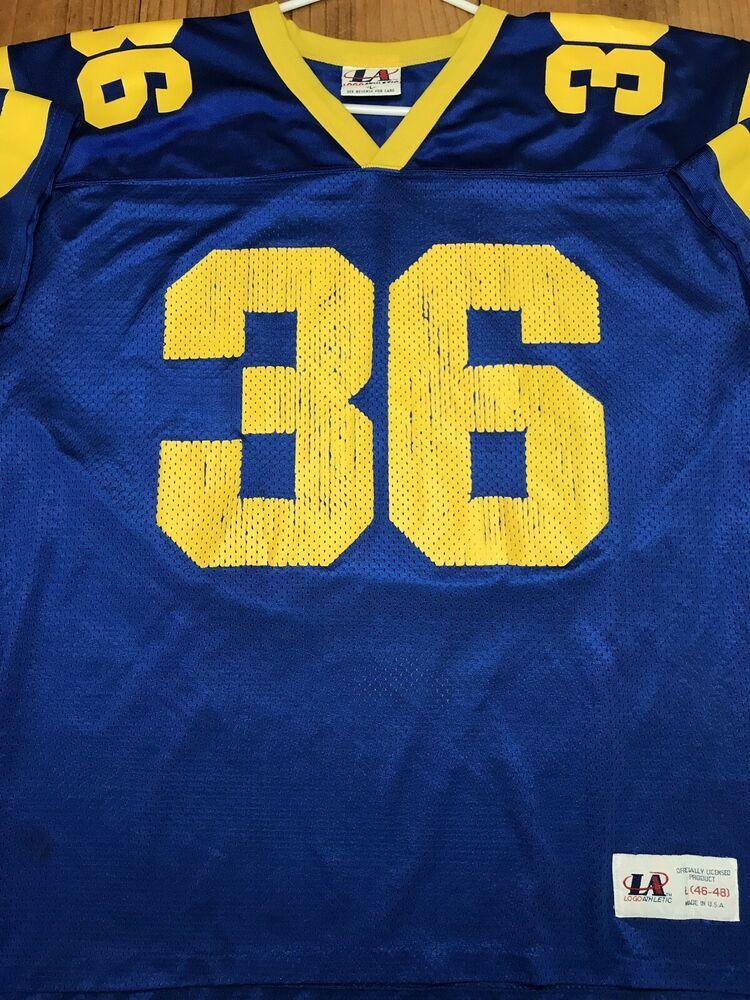 super popular 69076 6dd86 Details about Logo Athletic Men's Size Large Jerome Bettis ...