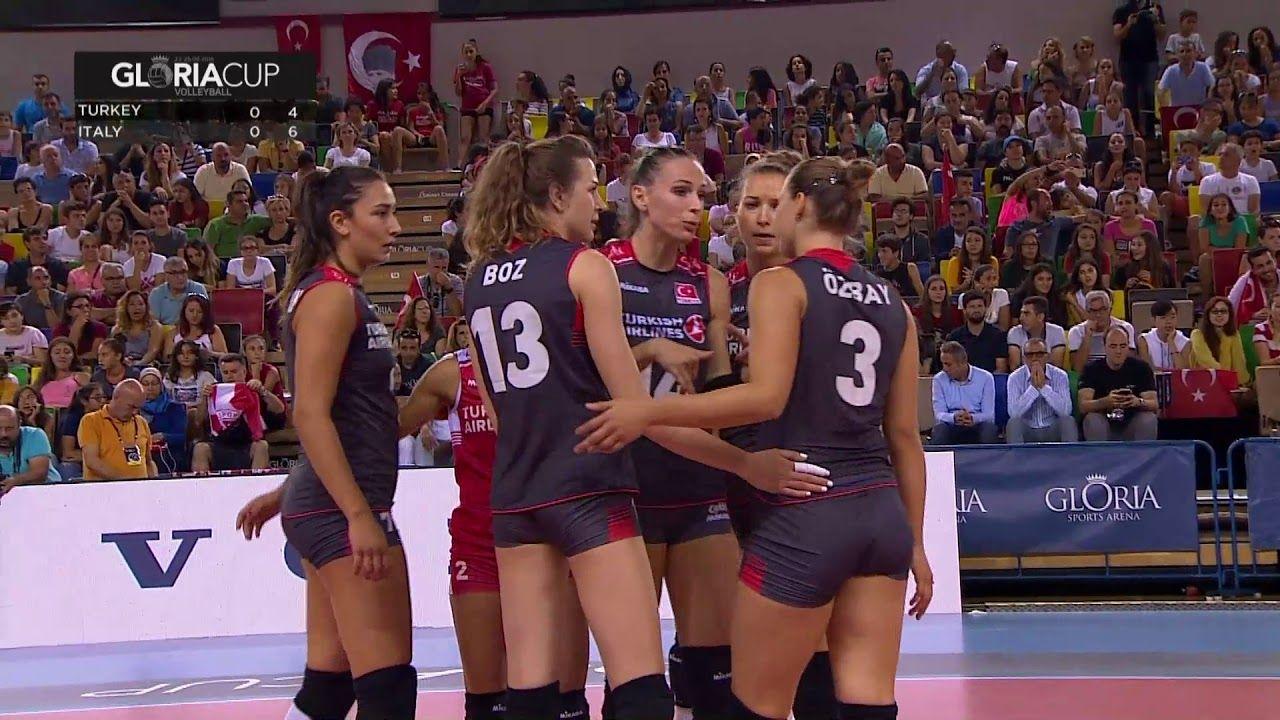 2018 Gloria Cup Volleyball Turkiye Italya Bob Arbeiterin