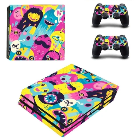 Cartoon Clipart Ps4 Pro Skin Ps4 Slim Console Playstation 4 Console Ps4 Pro Console
