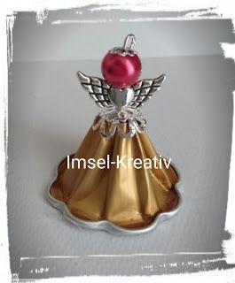 Imsel-Kreativ: Wie wird ein Engel aus Kaffeekapseln gebastelt?