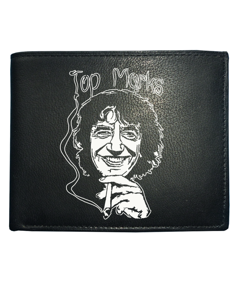 awesome TOP MARKS- Celebrity smuggler Howard Marks Men's Leather Wallet From FatCuckoo