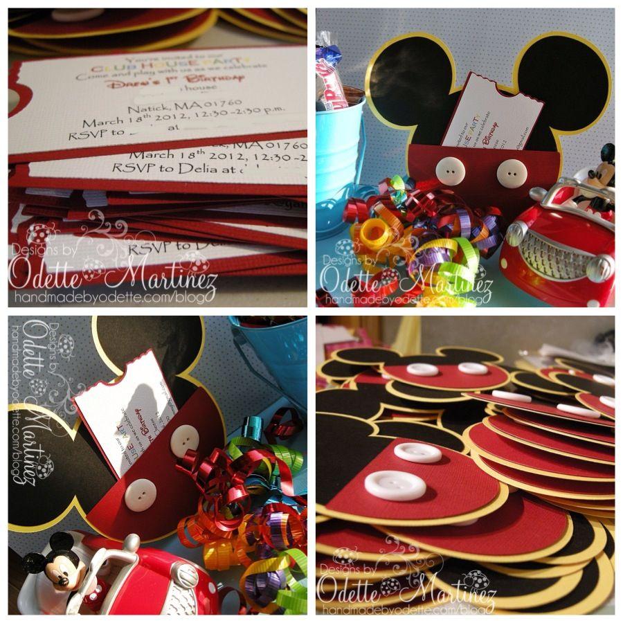 Mickey invites!